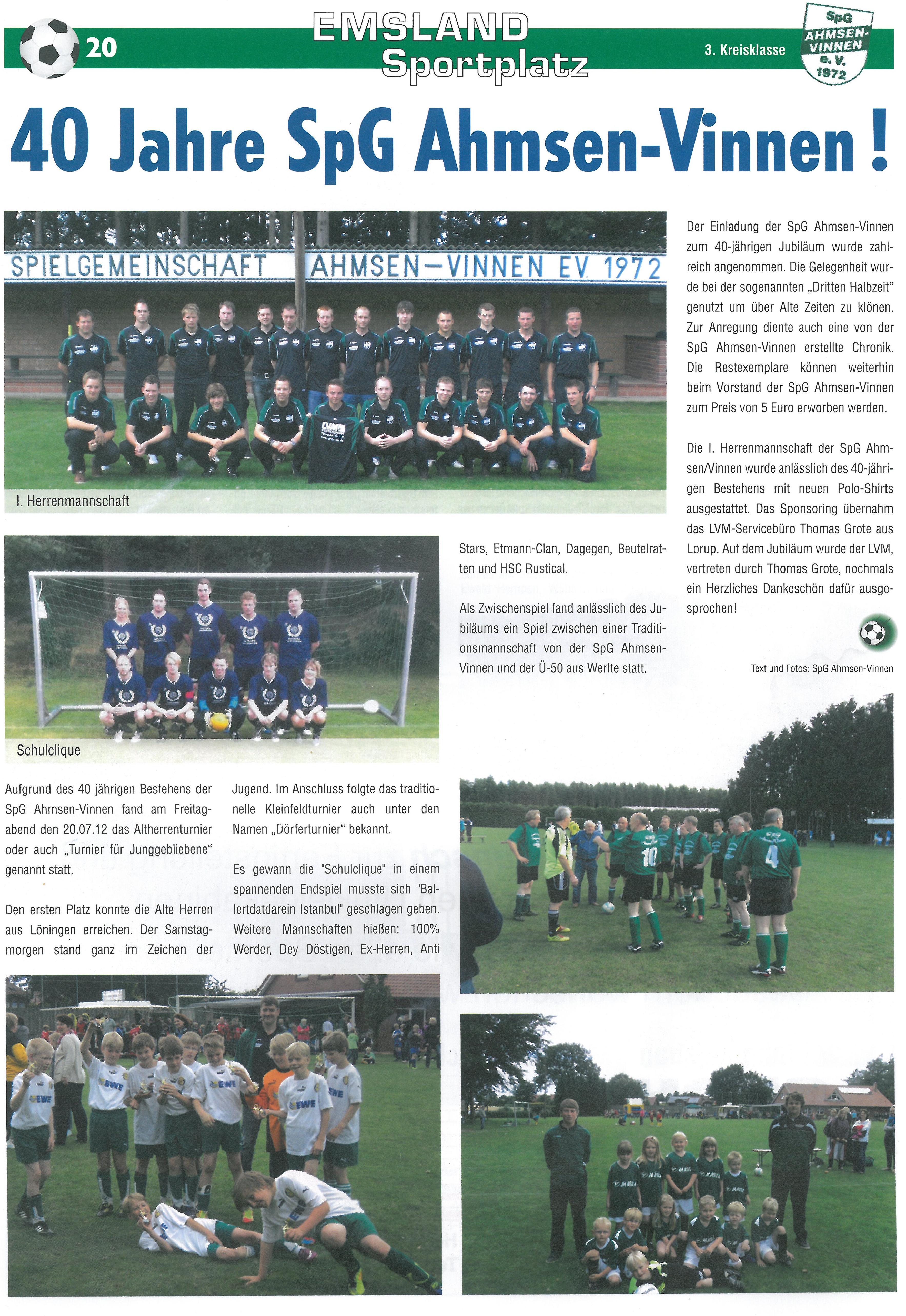 Emsland Sportplatz Nov.-Dez.2012  40 Jahre